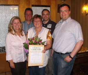 Read more about the article Liesel Prinz erhält die Silberne Ehrennadel