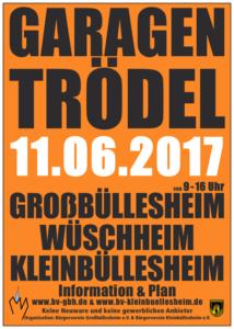 Read more about the article Garagentrödel in Großbüllesheim, Wüschheim und Kleinbüllesheim