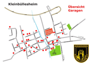 Read more about the article Garagentrödel Übersicht der Garagen