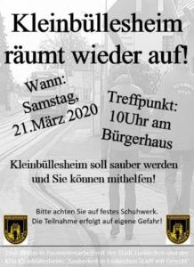 Read more about the article Kleinbüllesheim räumt wieder auf!